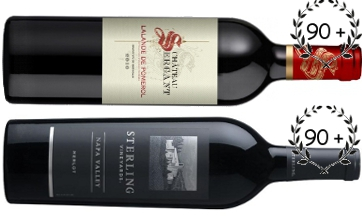 chateau sergant and sterling merlot wine
